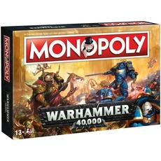 """Winning Moves Monopoly Brettspiel """"Warhammer 40K"""" (Für 2-6 Spieler) [ALTERNATE]"""