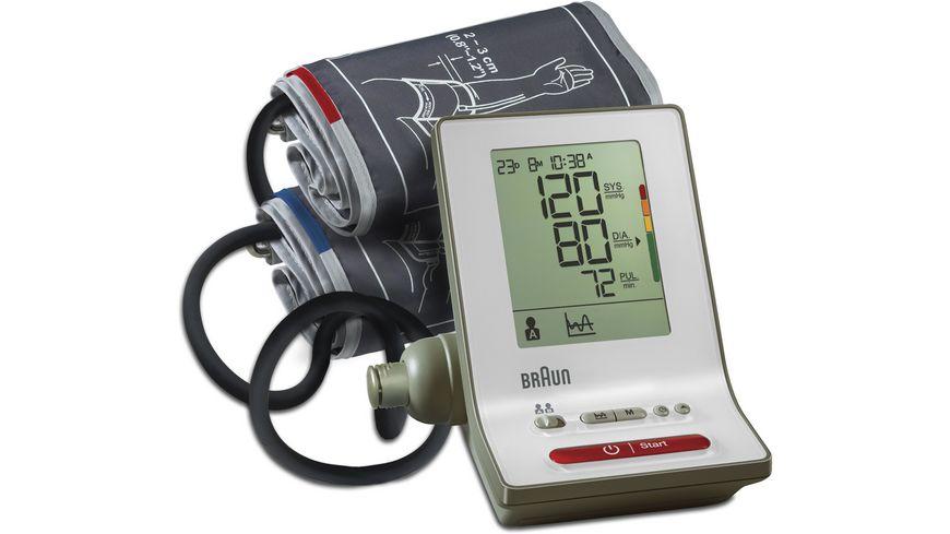 """BRAUN Oberarm-Blutdruckmessgerät """"BP6000 ExactFit 3"""" [MÜLLER Filial-Abholung]"""