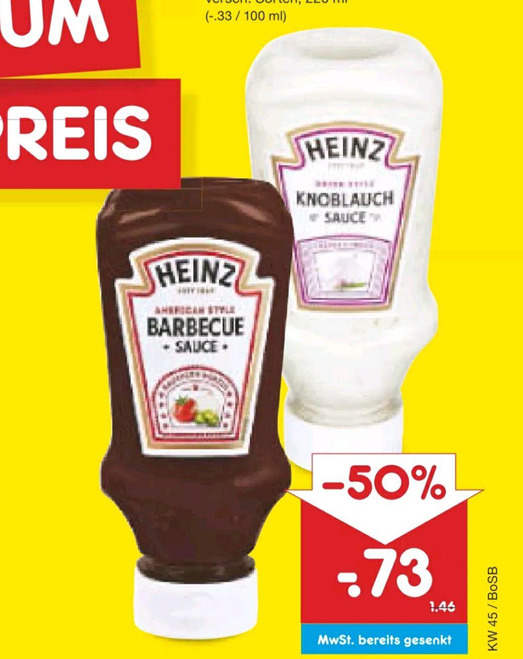 Heinz Saucen 220 ml bei Netto