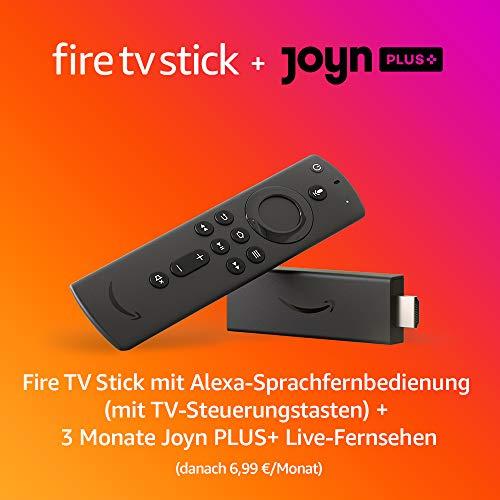 Der neue AMAZON FireTV Stick mit Alexa-Sprachfernbedienung u. TV-Steuerungstasten für 24,36€ [Amazon/MediaMarkt/Saturn/NBB/Expert]