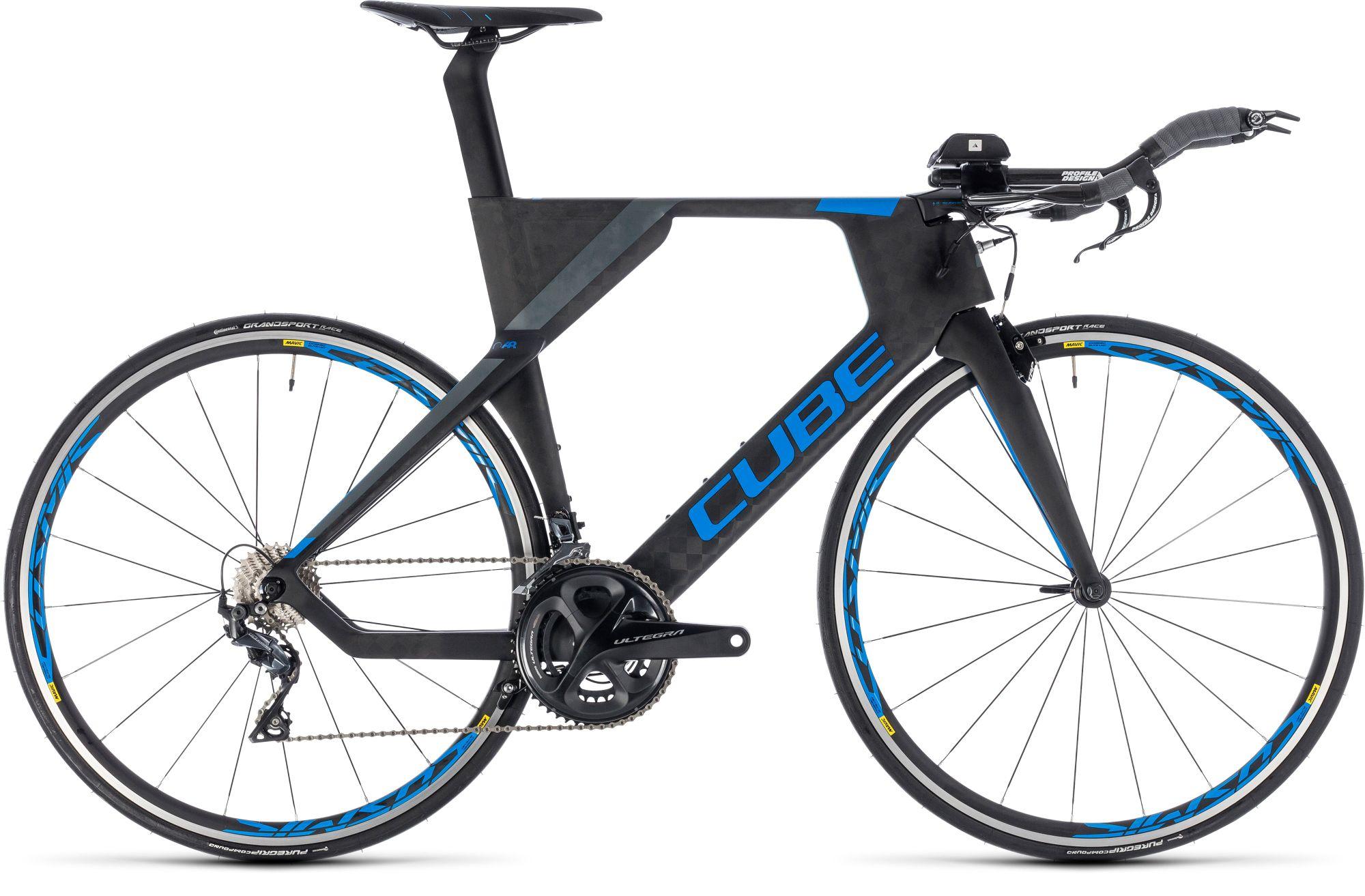 Triathlon Rad Cube Aerium Race carbon`n`blue