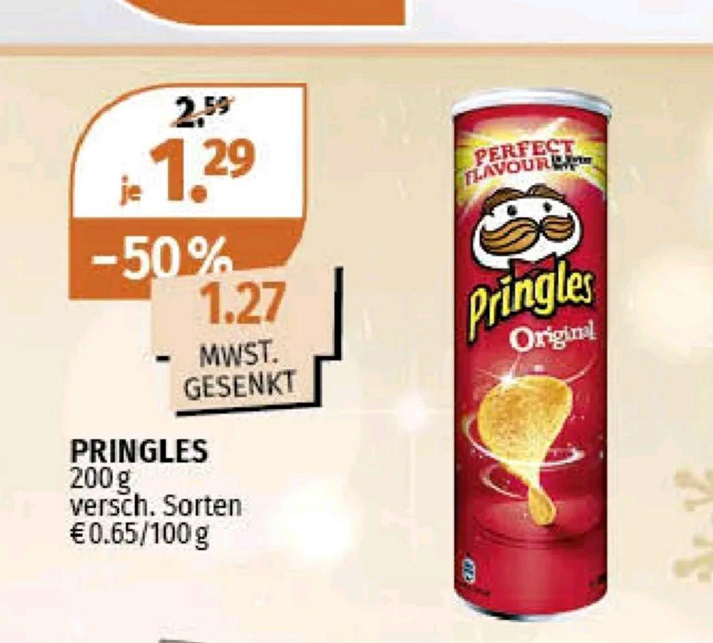 Pringles 200 g verschiedene Sorten bei Müller