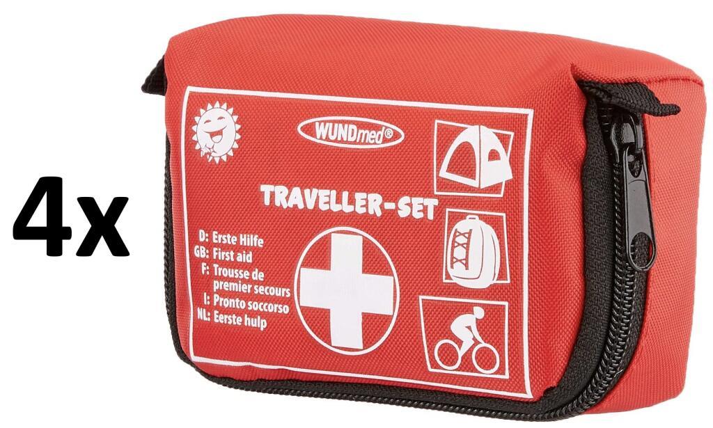 4x Wundmed Erste Hilfe Set 32-teilig in praktische Etui mit Gürtelschlaufe (Stückpreis: 2,89€) [Amazon Prime]