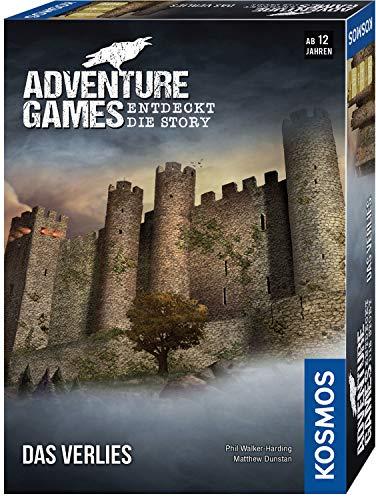 Kosmos 695088 - Adventure Games - Das Verlies. Entdeckt die Story, Kooperatives Gesellschaftsspiel, für 1 bis 4 Spieler für 7,79€ @ Amazon