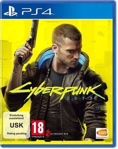 Cyberpunk 2077 Day One Edition inkl. PS5 Upgrade (PS4)