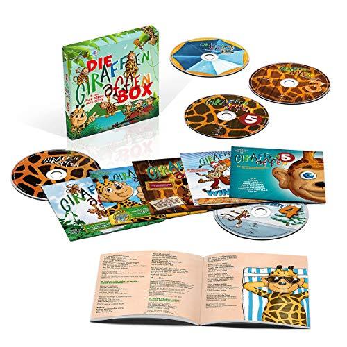 [Amazon Prime] Die Giraffenaffen Box (Limitierte 5cd Box)