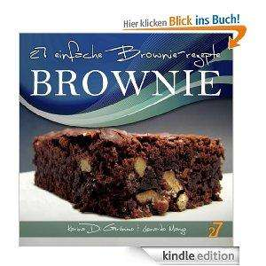[Kindle Edition] 27 einfache Brownie-rezepte (Cupcakes & Brownies. German Edition.) Gratis