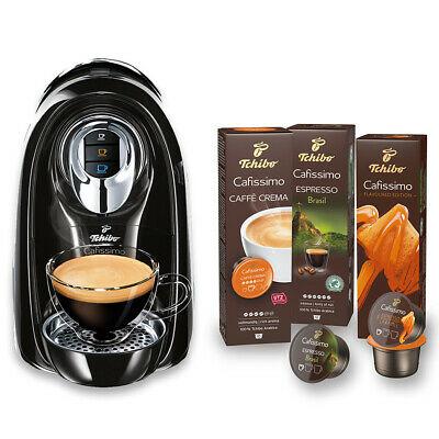 [Ebay] Tchibo Cafissimo Compact Kapselmaschine schwarz inkl. 30 Kapseln ( Kaffee, Espresso, Caffe Crema, 1,2L )