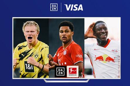 [DAZN-Neukunden] 3 Monate DAZN zum halben Preis mit DKB-VISA-Card
