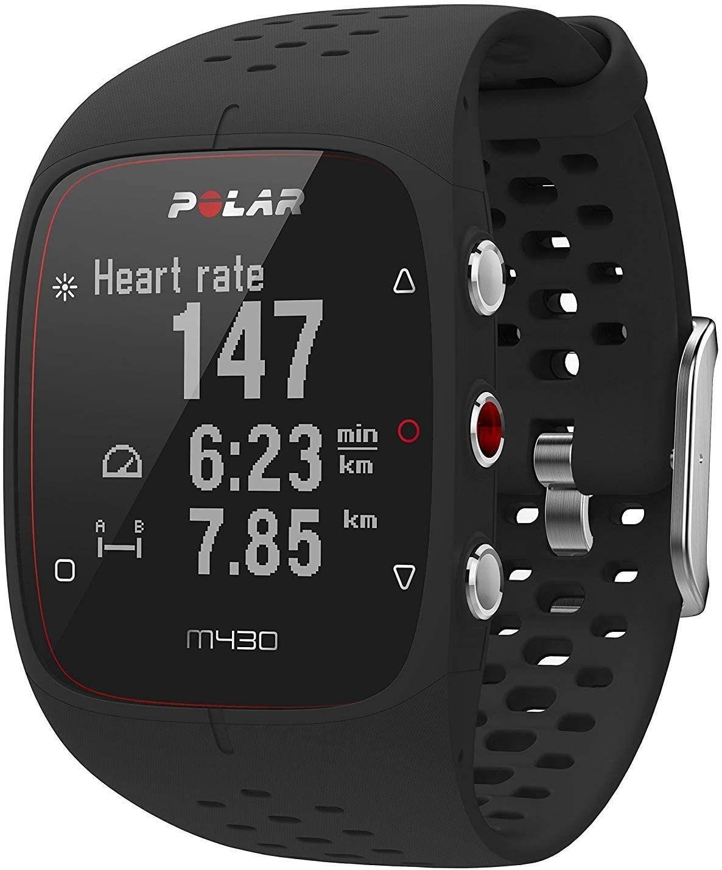 Polar M430 GPS-Laufuhr 24/7 Activity Tracking Pulsmessung M/L schwarz [Amazon]