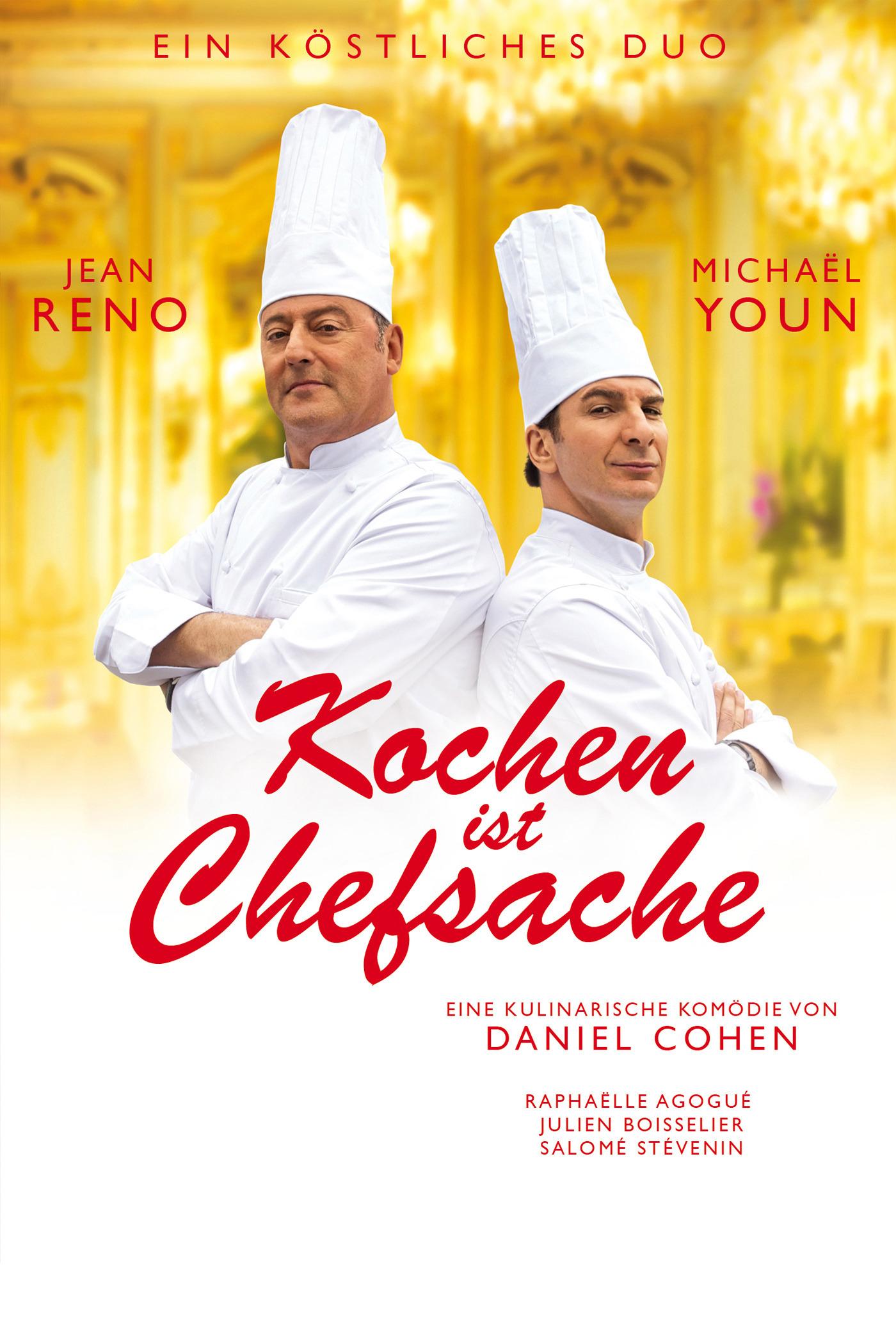 Kochen ist Chefsache - Komödie mit Jean Reno kostenlos im Stream (SRF)