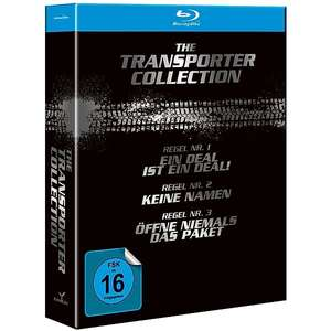 The Transporter 4 Filme Blu-ray Collection für 10,99€ inkl. Versand