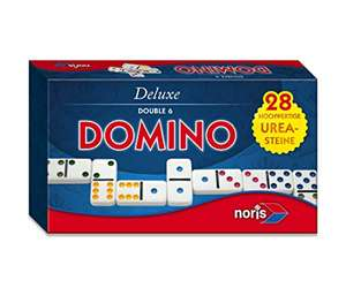 [Amazon Prime] Noris 606108002 606108002-Deluxe Doppel 6 Domino, Spieleklassiker
