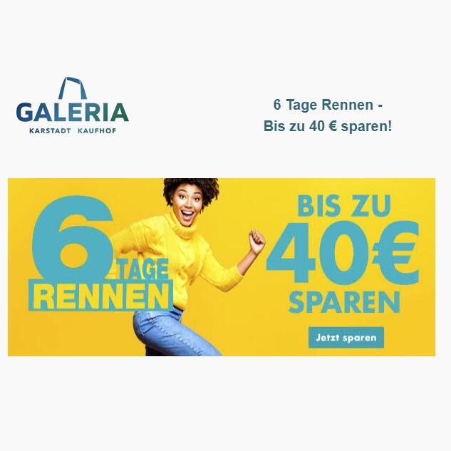 GALERIA.de - Bis zu 40 € Rabatt auf fast alles - vom 04.11 bis 10.11.2020