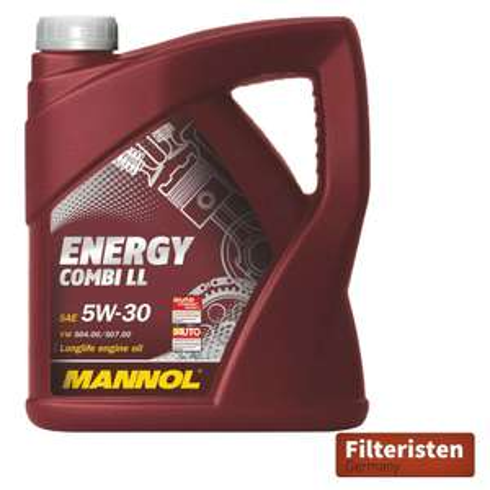 Mengenrabatt 15 % 5l Mannol Energy Combo Long Life VW/AUDI/BMW Motoröl