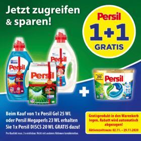 [dm] Persil Discs gratis bei Kauf von Persil Gel/Megaperls (3x pro Einkauf)
