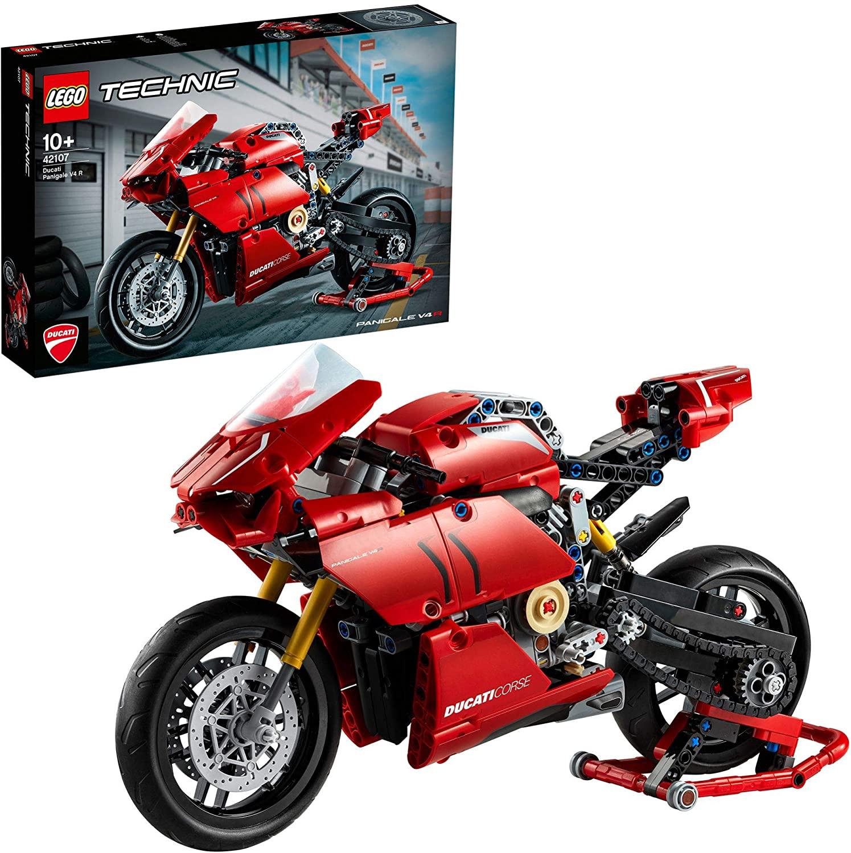 LEGO® Technic 42107 Ducati Panigale, Lego 31108 Creator 3-in-1 Campingurlaub, LEGO City 60215 Feuerwehr-Station [real Family & Friends]