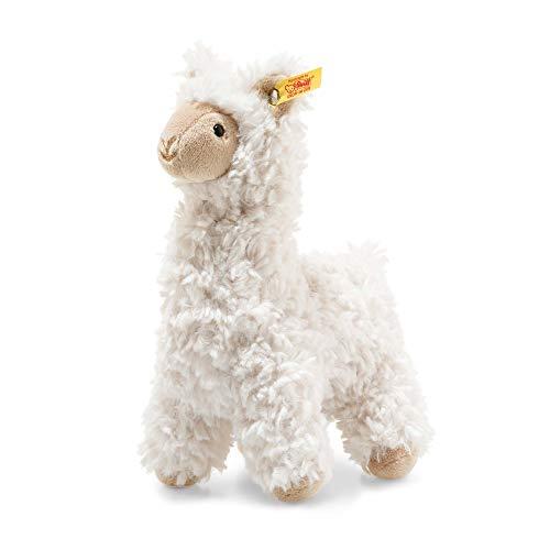 """[Amazon Prime] Steiff 69444 Original Plüschtier Lama Soft Cuddly Friends Leandro, Kuscheltier ca. 14 cm, Markenplüsch Knopf im Ohr"""""""