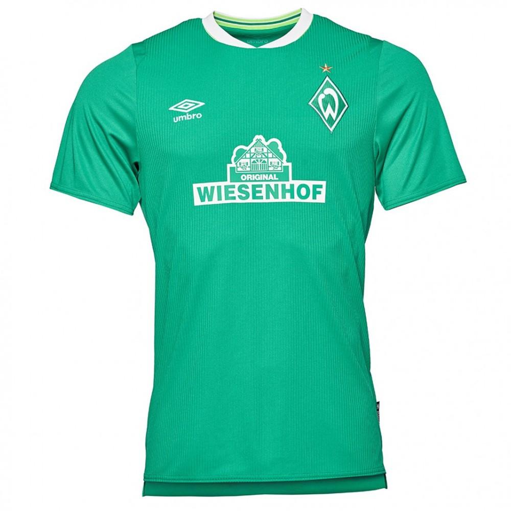 UMBRO SV Wiesenhof Werder Bremen TRIKOT HOME 2019/2020 nur noch XXL; Alternativ Trikot in M von Gazprom Schalke 04 für 19,99€