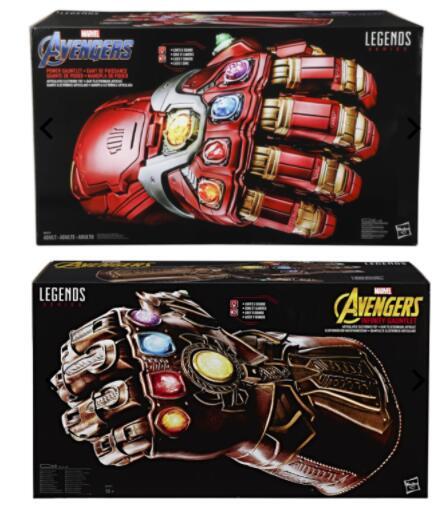 [Zavvi] 2er-Set Hasbro Avengers Infinity & Power Gauntlet Multi Handschuhe