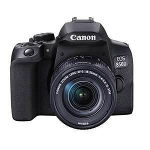 Canon EOS 850D + EF-S 18-55mm F4-5.6 IS STM Kamera Kit [Amazon]