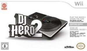 DJ Hero 2 Wii plus Turntable-Controller bei Amazon für 11,14 (plus ggf. 3 Euro Versand)