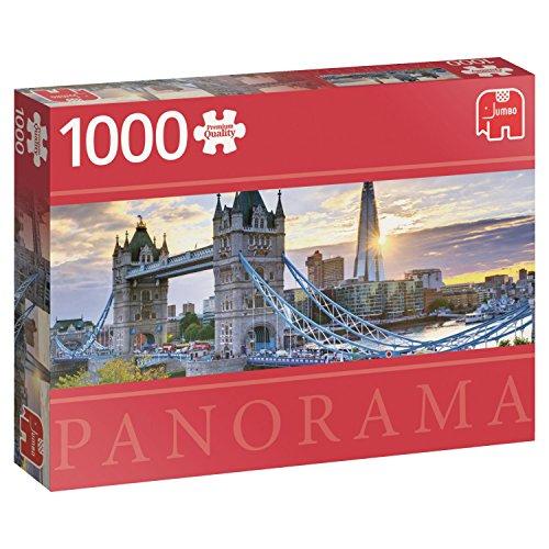 Jumbo Spiele 18573 Puzzle London Tower Bridge 1000 Teile für 7,49€ inkl. Versandkosten mit Prime