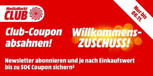 MediaMarkt Willkommenszuschuss