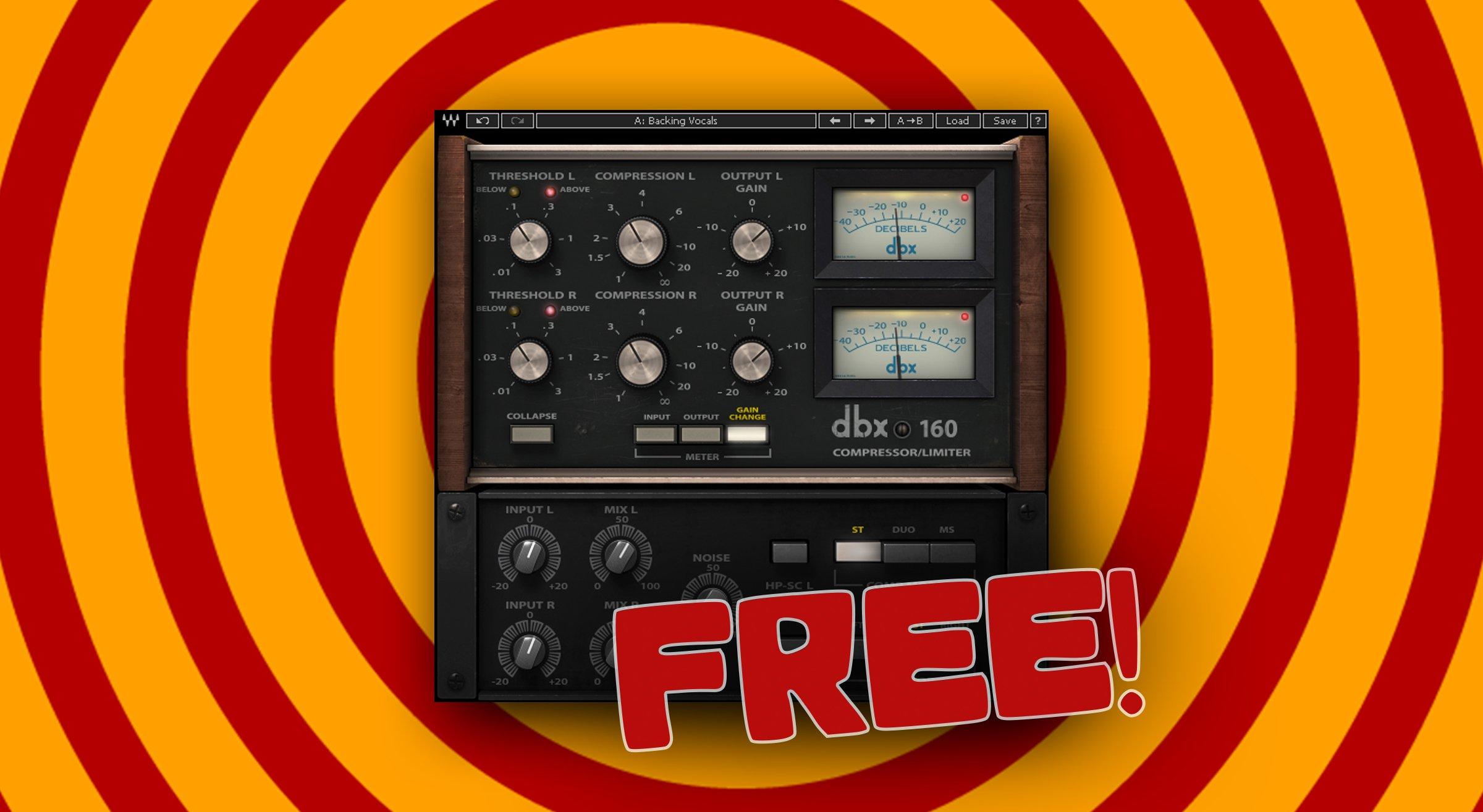 [ VST / Musikinstrumente / DAW ] Waves Audio dbx 160 Compressor Plugin