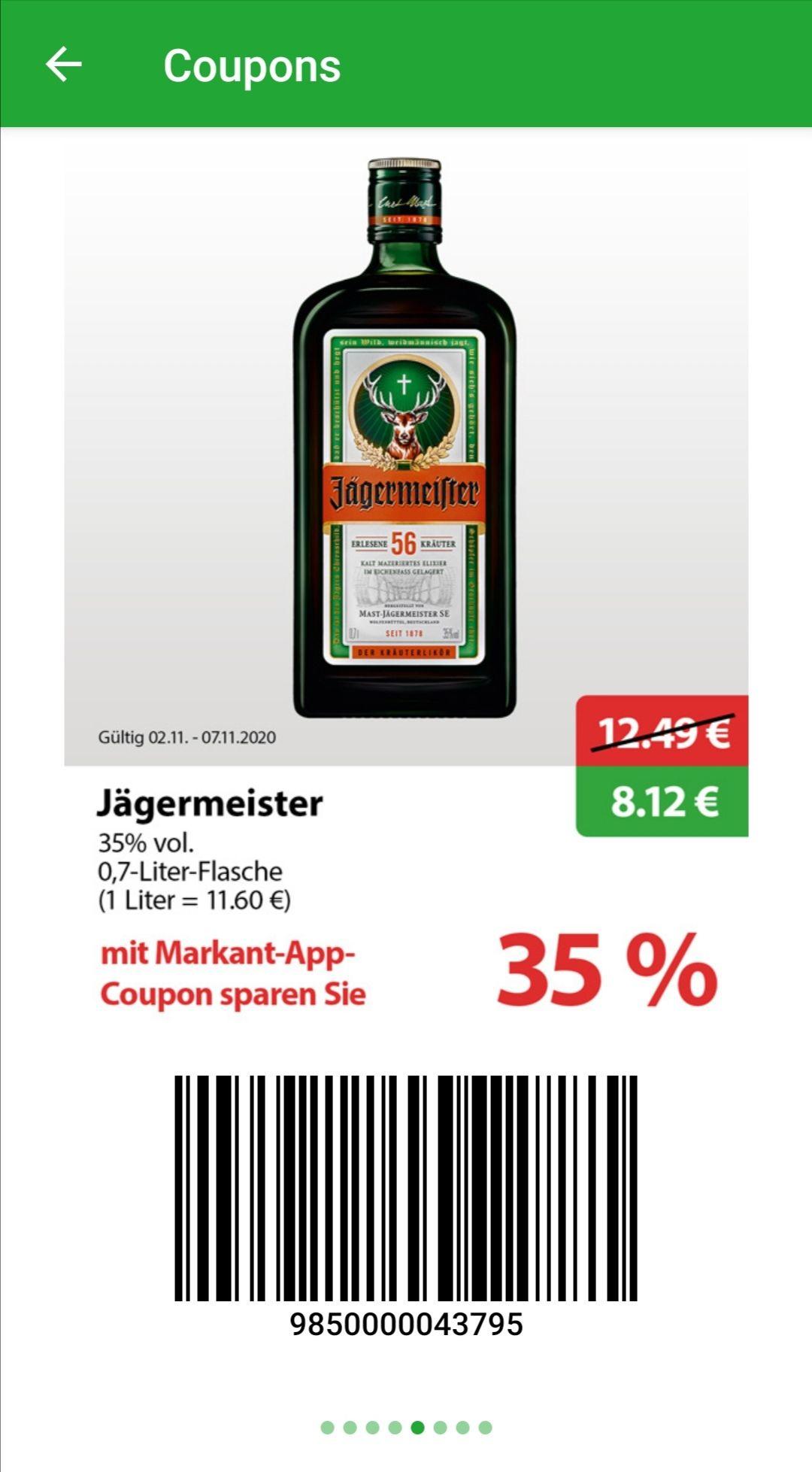 [Markant] Jägermeister 0,7l