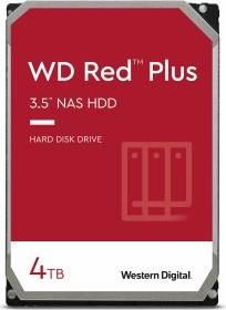 """Western Digital WD Red Plus 4TB (NAS HDD, 3.5"""", SATA 6Gb/s, CMR, WD40EFRX)"""