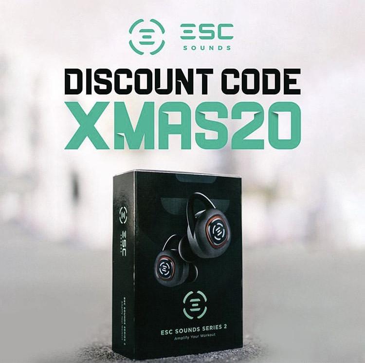 ESC-Sounds Series 2 - Wireless (Sport-) Earbuds / In-Ear-Kopfhörer