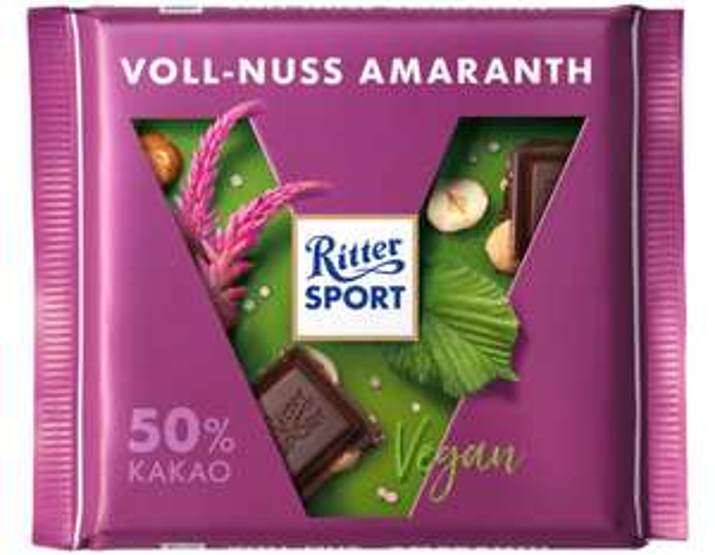 Offline@Müller Ritter Sport Schokolade auch Vegane und Nuss und Kakao Klasse