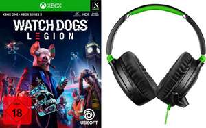 Watch Dogs Legion (Xbox One & PS4) + Turtle Beach 70P Gaming-Headset
