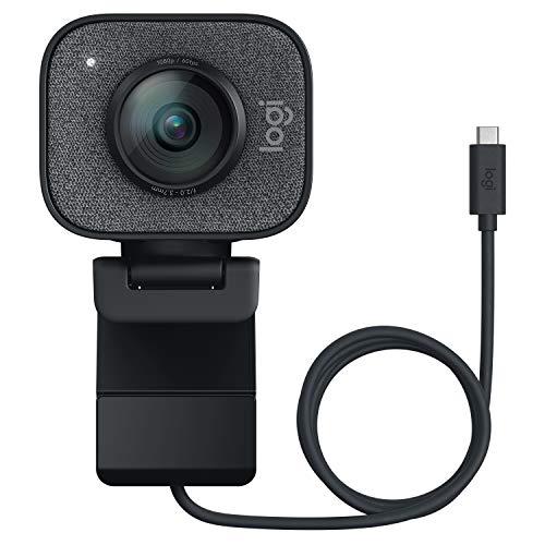 [Amazon IT] Logitech Streamcam - Full HD Webcam (1080p bei 60 fps, Smart Autofokus & Belichtung, zwei Mikrofone, USB-C, für PC & Mac)