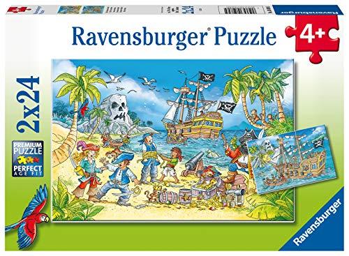 [Amazon Prime] Ravensburger Kinderpuzzle Sammeldeal z.B. Ravensburger Kinderpuzzle 05089-Die Abenteuerinsel-2 x 24 Teile
