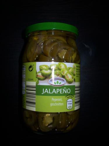 Jalapenos - Aldi Süd - 99cent - HOT - geschnitten - rot - grün
