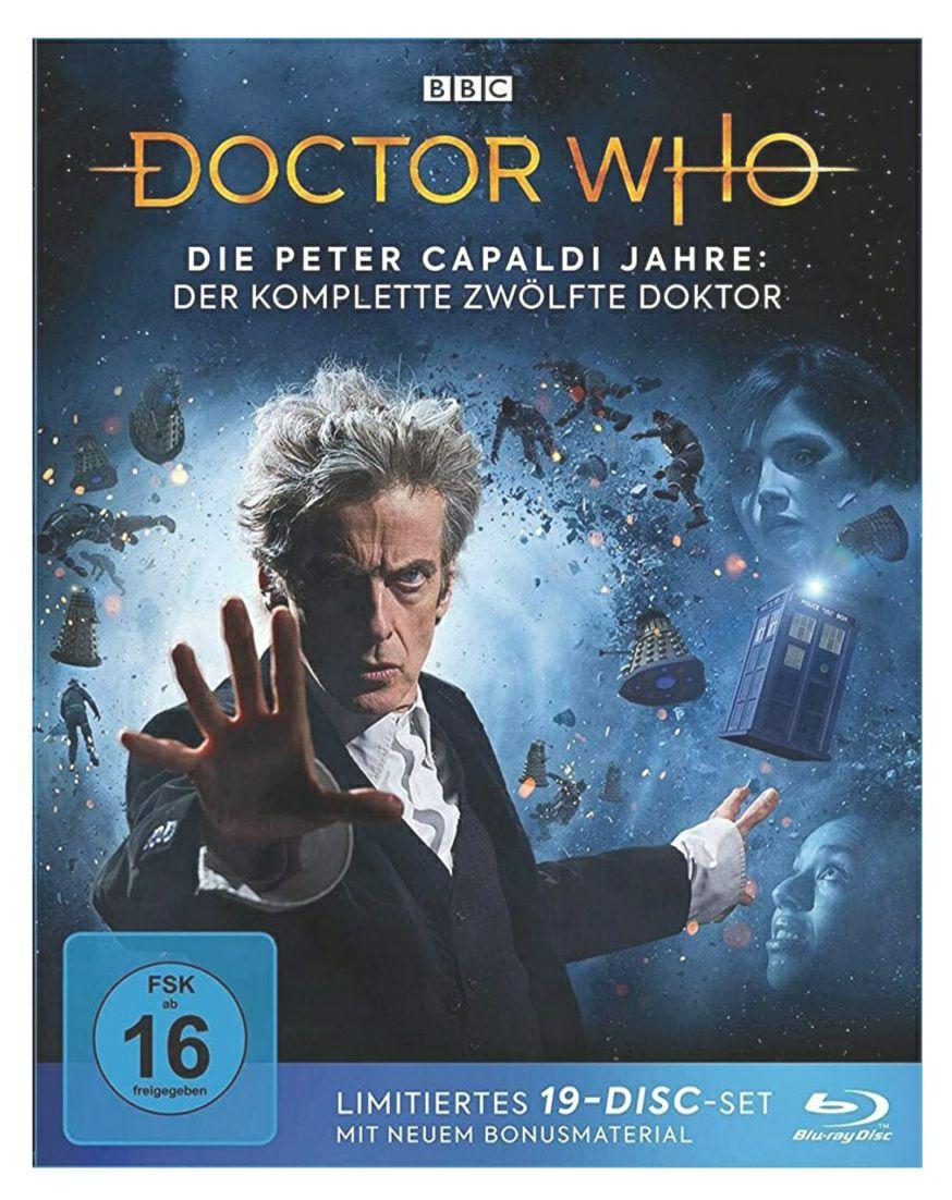 (Amazon) Doctor Who – Die Peter Capaldi Jahre: Der komplette 12. Doktor [Blu-ray]