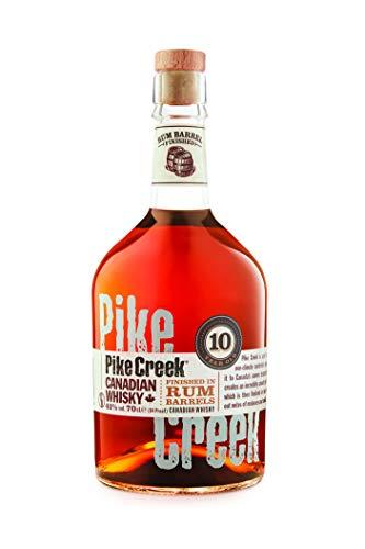 Pike Creek 10 Jahre Rum Barrel Finished Canadian Whisky | 42 % vol | 0,7 l