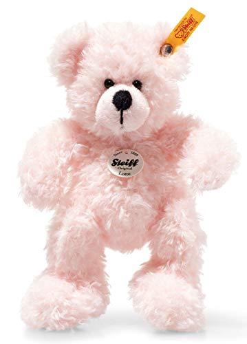 [Amazon Prime] Doppeldeal: Steiff 113802 Teddybär Lotte, rosa, 18 cm oder Steiff 239601 Schlaf-gut-Bär Greifring mit Rassel Plüschtier