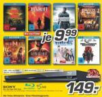 Regional: Sony BDP-S470 - 3D fähiger BR-Player mit 2 BluRays für 149€ (MediMax Südwest-Deutschland)