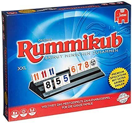 Jumbo Spiele - Original Rummikub XXL - Gesellschaftsspiel, Amazon Prime