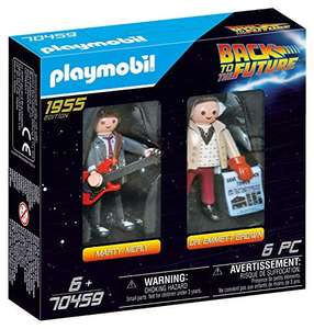 [Amazon Prime Deal] PLAYMOBIL 70459 Back to the Future Marty Mcfly und Dr. Emmett Brown, ab 6 Jahren