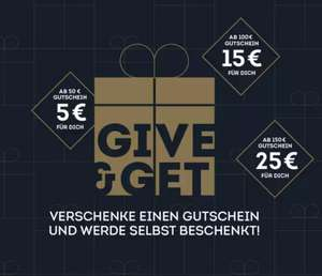 SportScheck: 5€ / 15€ / 25€ Einkaufs-Coupon bei Kauf eines Geschenk-Gutscheins im Wert von 50€ / 100€ / 150€