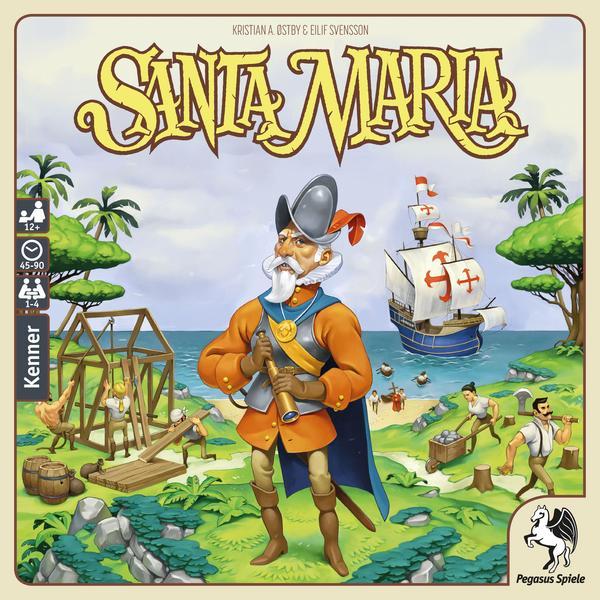 [KultClub] Brett- & Gesellschaftsspiele: Santa Maria (15,83€, BGG 7,6), Pioneers (17,99€, BGG 7,0) od. Overbooked (14,39€, BGG 7,2)