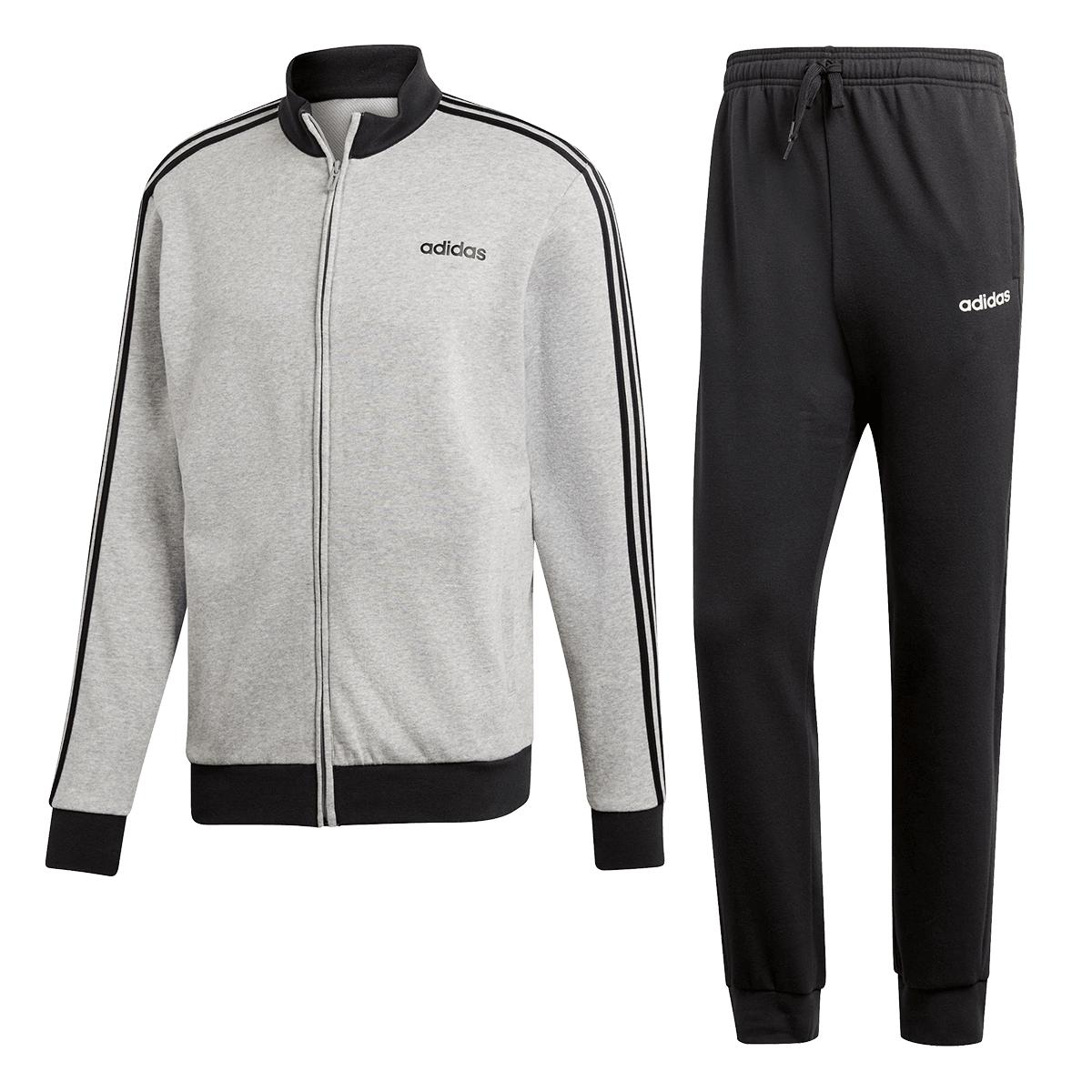 adidas Trainingsanzug MTS Relax in grau/schwarz (Gr. S -XXL) für 44,95€