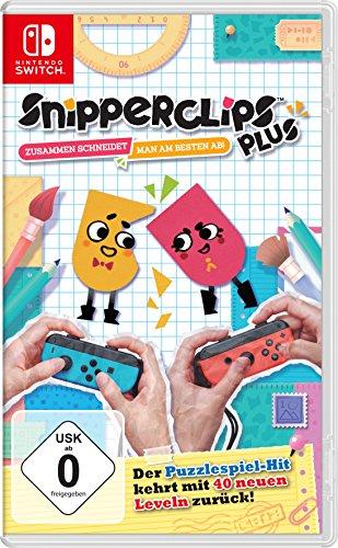 Prime - Snipperclips Plus - Zusammen schneidet man am besten ab! - [Nintendo Switch]