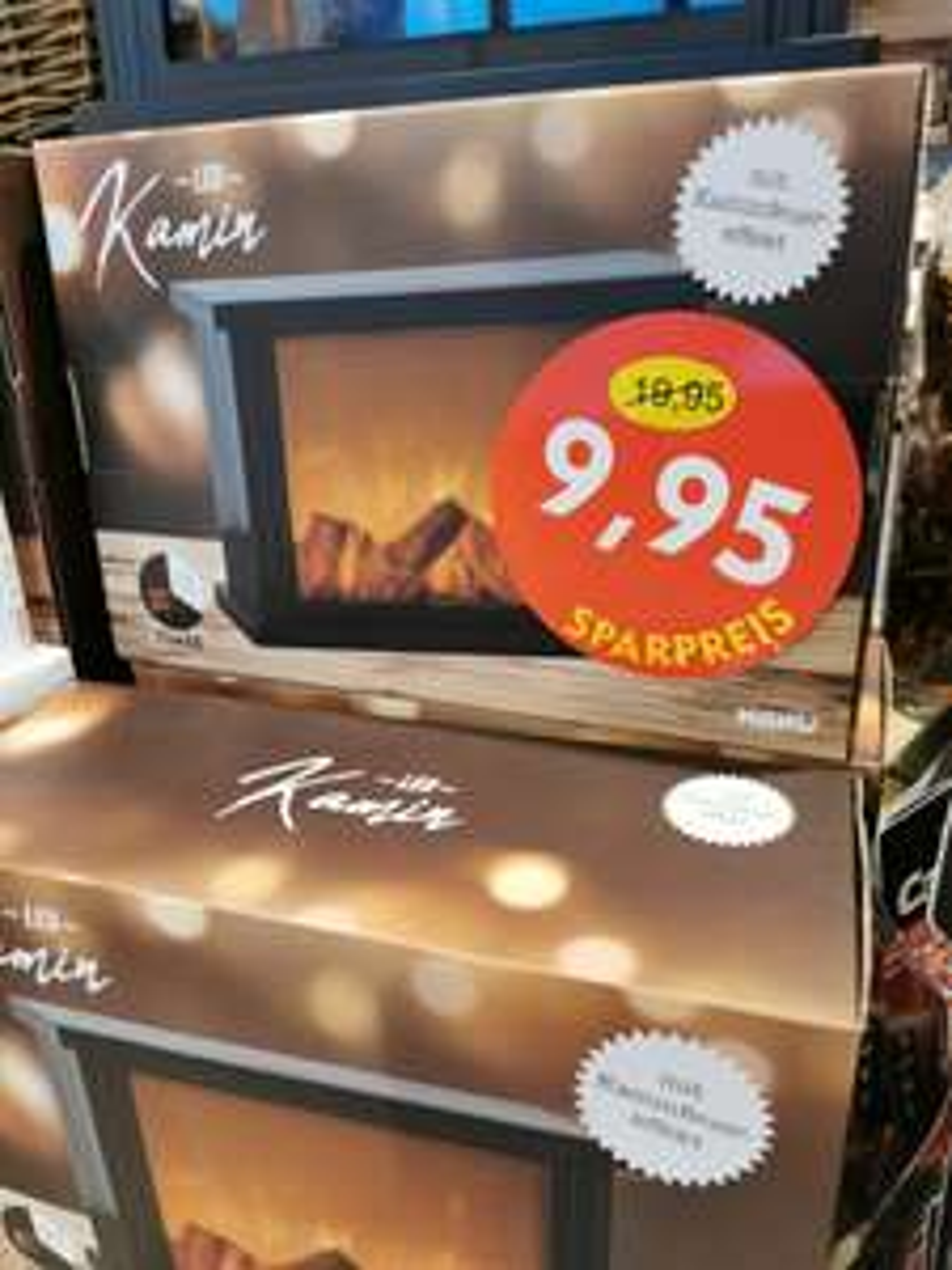 Fire it up! LED-Kamin mit Timer knapp 50% reduziert bei Nanu-Nana *deutschlandweit*