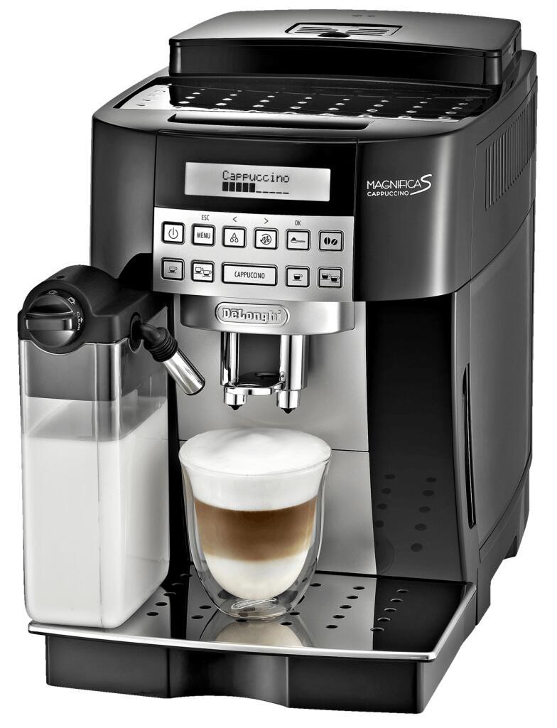 """De'Longhi Kaffeevollautomat """"ECAM 22.366.B Magnifica S"""" (15 bar, 1.8 L Wassertank, 250 g Bohnenbehälter) *In NRW ohne Kundenkarte* [METRO]"""