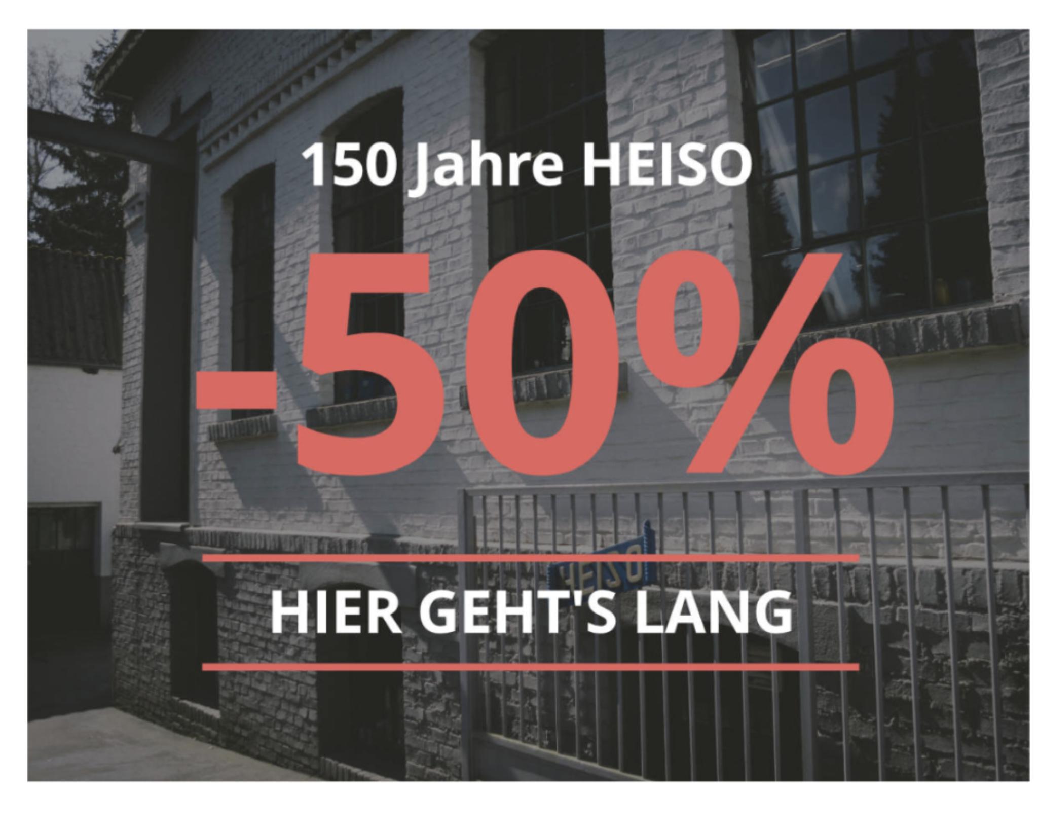 Heiso Messer -50% im Onlineshop auf ausgewählte Artikel (Classic Serie)